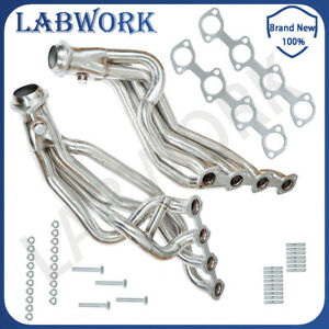 For 96 04 Mustang Gt 4 6l V8 Stainless Long Tube Racing Manifold Header Exhaust