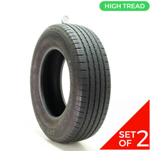 Set Of 2 Used 245 70r17 Leao Lion Sport H t 110t 8 5 10 32