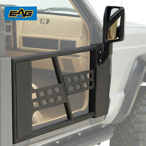 Eag Safari Tube Door Fit 86 92 Jeep Comanche Mj 84 96 Cherokee Xj Front Door