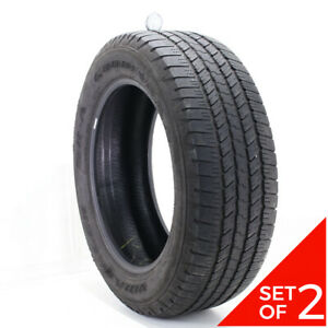 Set Of 2 Used 275 55r20 Goodyear Wrangler Sr a 111s 7 5 8 32