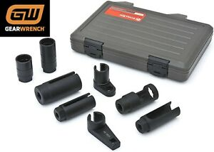 Gearwrench 41720 8 Piece Sensor And Sending Socket Tool Set New Free Shipping