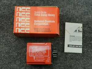 New Ncc National Controls A1m 0999m 462 Multiple Range Time Delay Relay Timer