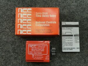 New Ncc National Controls Tmm 0999m 461 Multiple Function Time Delay Relay Timer