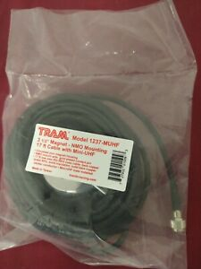Tram 1237 Muhf 3 5 Magnet Nmo Mounting 17 Ft Cable With Mini uhf