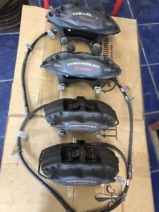 2010 2011 2012 2013 2014 2015 Camaro Ss Brembo Calipers Front Rear Brakes G8