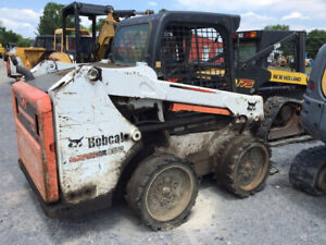 2014 Bobcat S550 Skid Steer Loader Cheap Needs Work Read Descrition
