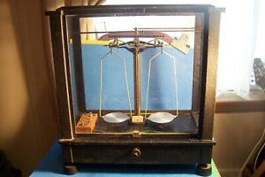 Antique Analytical Assay Scale Type L C No 11959 Will Ainsworth