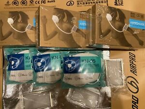 Broad Electrical Air Respirator bundle 3 Respirators 3 Filters 6 Extr Masks