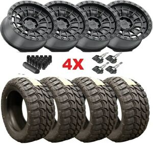 Black Rhino Wheels Rims Tires 33 12 50 18 33 12 50 18