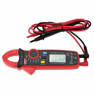 Uni t Ut210d Digital Ac dc Current Voltage Resistance Capacitance Clamp Meter