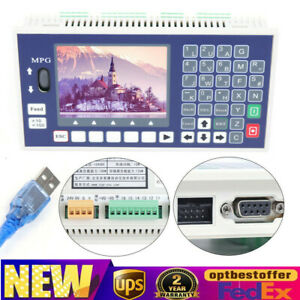 Lcd Support Offline Servo Stepper Motor 4 Axis Cnc Motion Controller System Usb