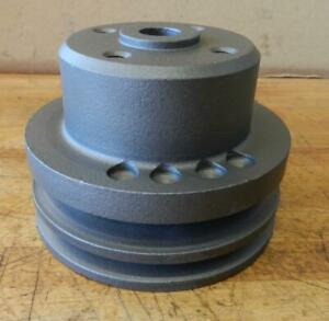 Clark Forklift Continental Engine Used Water Pump Pulley F34226 4 1 2 Diameter