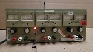 Lambda Lpt 7202 fm Regulated Triple Output Power Supply