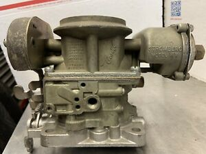 Stromberg Ww 2 Barrel Carburetor 3 105a Dodge V8