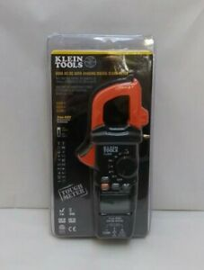 New Klein Tools Cl800 Digital Clamp Meter Ac dc Auto ranging 600a True Rms