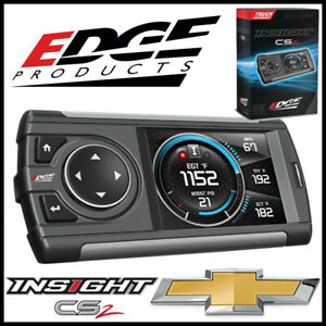 Edge Products Insight Cs2 Gauge Monitor Fits 1999 2019 Chevy Tahoe Suvs