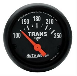 Autometer Auto Meter Z series Analog Trans Temp Gauge 2 1 16 Inch 2640