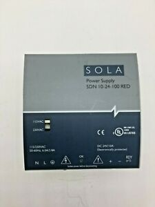 Sola Power Supply Sdn 10 24 100 Red