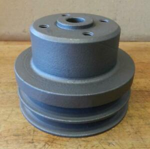 Clark Forklift Continental Engine Used Water Pump Pulley F36522 4 1 2 Diameter