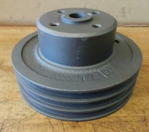 Clark Forklift Continental Engine Used Water Pump Pulley F4297 5 3 4 Diameter