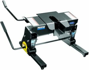 Reese Towpower 16k Fifth Wheel Hitch 30051 With Kwik Slide And Gooseneck Adaptor