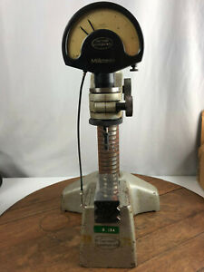 Carl Mahr Millimess W cable Release Micrometer Stand