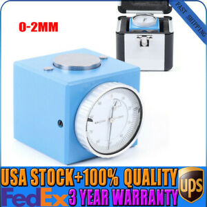 Magnetic Z Axis Tool Dial Pre Setter 2 0 01mm Gage Offset Cnc Metric Range box