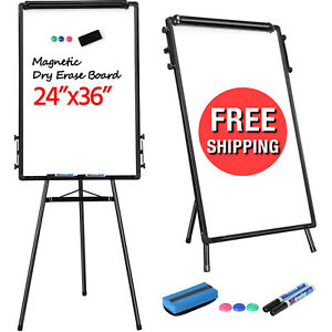 Dry Erase Board Height Adjust Stand White Board Presentation Magnetic Whiteboard