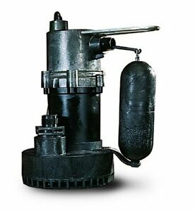 Little Giant 505700 5 5 Asp Submersible Sump Pump 10 Steel Wastewater Removal