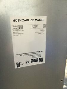 Used 332 Lb Flaker Ice Machine Storage Bin Hoshizaki F 330baj 5650 Commercial
