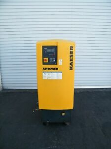 2010 Kaeser Airtower 7 5 Hp Rotary Screw Air Compressor Ingersoll Rand Dryer