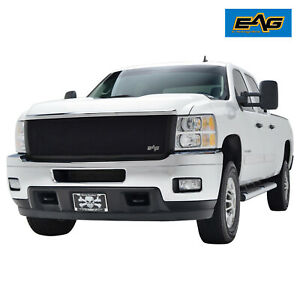 Eag Fit 11 14 Chevy Silverado 2500 3500 Replacement Grille Black Wire Mesh