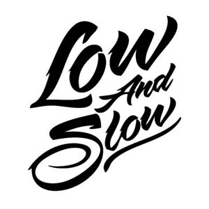 Vinyl Decal Low Slow Lowrider Lowered Slammed Dropped 20 Colors Car Truck 491