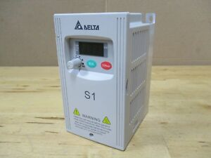 Delta Inverter Vfd004s11a Ac Variable Frequency Drive S1 0 5hp 110v