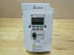 Delta Inverter Vfd015m23a Ac Variable Frequency Drive Vfd m 2hp 230v 3 Phase