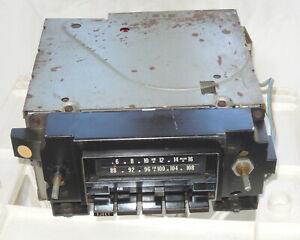 1973 Gm Delco Am Fm 8 Track Stereo Part Number 79339162
