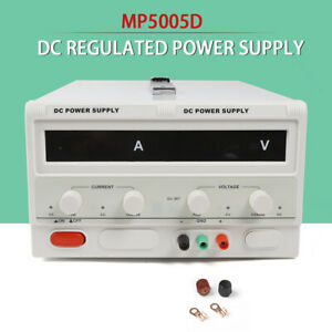 Regulated Dc Power Supply 0 500v 0 5a With 4 Digital Dispaly Lab Grade
