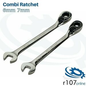 Blue Point 6mm 7mm Ratchet Spanner Boerm6 Boerm7 As Sold By Snap On