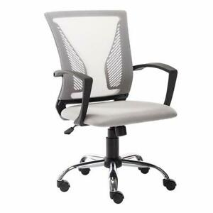 Ergonomic Executive Mesh Chair Office Computer Desk Swivel Chair Mid back Black