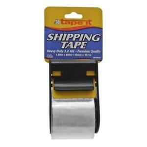 Shipping Tape With Dispenser Pack Of 54 3 0 Mil 1 89 In X 400 In Ships Free