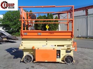 2015 Jlg 1932rs Electric Scissor Man Boom Aerial Lift