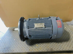Siemens Electric Motor 20 Hp 230 460 Volts 3525 Rpm 256t Frame 3 Phase Tefc