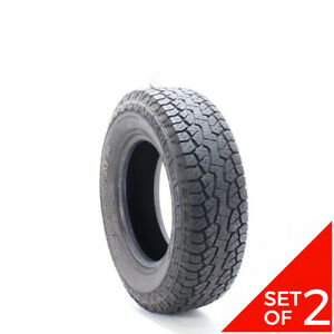 Set Of 2 Used 235 75r16 Hankook Dynapro Atm 109t 7 5 32
