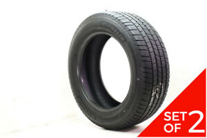 Set Of 2 Used 275 55r20 Michelin Defender Ltx M s 113t 7 5 32