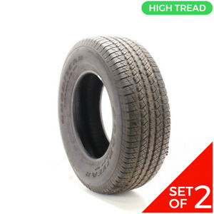 Set Of 2 Driven Once 265 70r17 Goodyear Wrangler Hp 113s 12 32