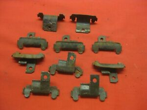 1961 1962 Chevy Impala Convertible Front Window Lower Reveal Molding Clips 5000