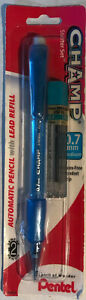 Pentel Champ Starter Set Automatic Pencil With Lead 0 7mm 1 Pack New