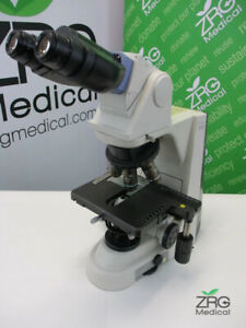 Nikon Eclipse 50i Microscope With Four Nikon Plan Objectives 10x 40x 50x 100x