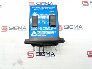 Tri tronics Pm8200 Multi function Programmable Dual Event Timer Relay