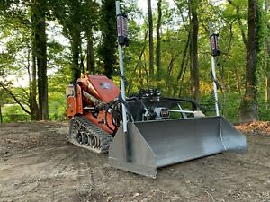 Automated Laser Leveling Best Grading Attachment Skid Steer Grader Level Screed